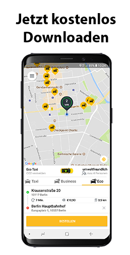 Taxi-App für Berlin downloaden
